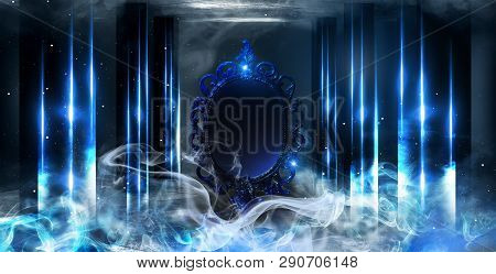 Mirror Magical, Fortune Telling And Fulfillment Of Desires. Mirror Magic, Fortune Telling And Fulfil