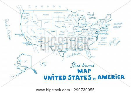 Vector Map United Vector & Photo (Free Trial) | Bigstock