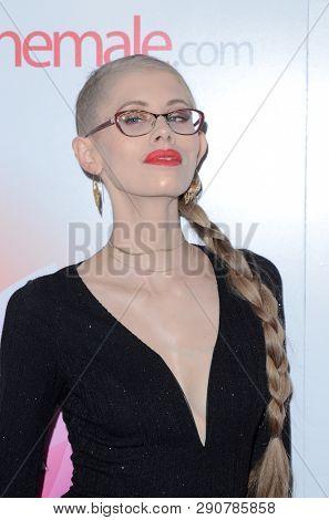 LOS ANGELES - MAR 17:  Kyaa Chimera at the 2019 Transgender Erotica Awards TEA Show at the Avalon Hollywood on March 17, 2019 in Los Angeles, CA