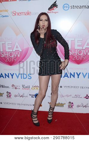 LOS ANGELES - MAR 17:  Tatiana Summer at the 2019 Transgender Erotica Awards TEA Show at the Avalon Hollywood on March 17, 2019 in Los Angeles, CA