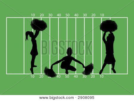 Cheerleaders Football 6