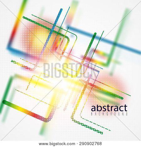 Minimalistic Design, Creative Concept, Modern Diagonal Abstract Background Geometric Element. Blue,
