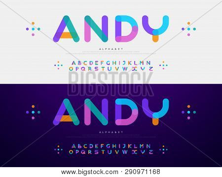 Modern Font Creative Vector & Photo (Free Trial) | Bigstock