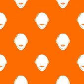 Facelift pattern vector orange for any web design best poster