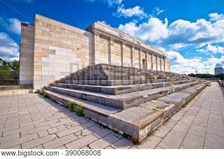 Reich Former Nazi Party Rally Grounds In Nuremberg, Bavaria Region Of Germany