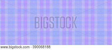 Pink Check Plaid. Watercolour Picnic Blanket. Modern Checkered Ornament. Seamless Check Plaid. Celti