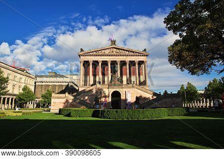 Berlin, Germany - 08 Sep 2015: Museum Island, Berlin, Germany