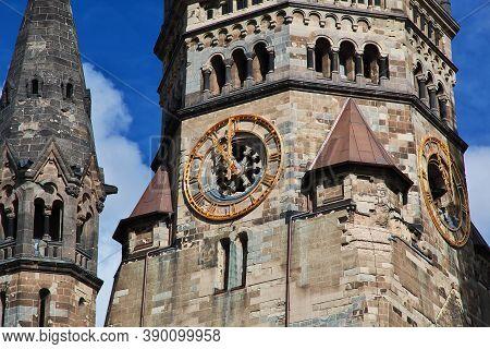 Kaiser Friedrich Gedachtniskirche In West Berlin, Germany