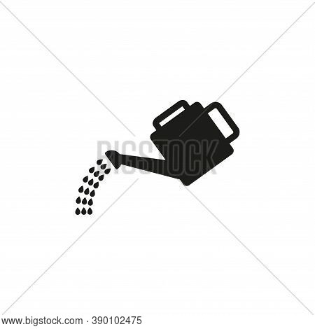 Irrigation Icon. Irrigation Symbol. Garden Watering Can.simple Vector Illustration On A White Backgr