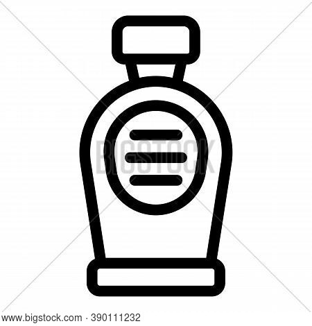 Care Mouthwash Icon. Outline Care Mouthwash Vector Icon For Web Design Isolated On White Background