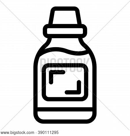 Tooth Mouthwash Icon. Outline Tooth Mouthwash Vector Icon For Web Design Isolated On White Backgroun