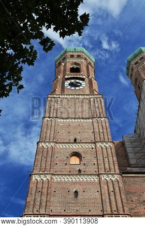 Church Of Our Lady, Frauenkirche In Munich, Germany