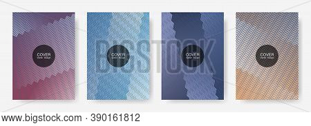 Gradient Zig Zag Stripes Texture Vector Backgrounds For   Catalog Covers. Tech Zig Zag Gradient Line