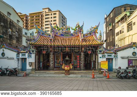 October 16, 2020: Taiwanfu Cheng Huang City God Temple In Tainan, Taiwan. It Is A Taoist Temple Dedi