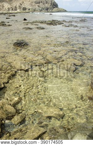 Clear Waters At Harbour Beach, Fernando De Noronha, Brazil.