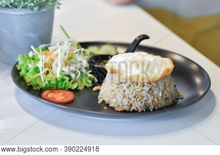 Fried Rice Or Stir-fried Rice With Egg