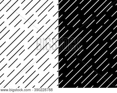 Line Geometry Seamless Pattern. Diagonal Abstract Simple Vector Illustration