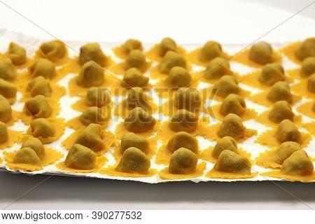 Tortellini Pasta Stuffed With Meat Tortellini Pasta Stuffed With Meat