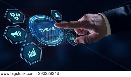 Business, Technology, Internet And Network Concept. Recent And Latest Trend.