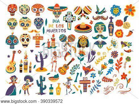 Dia De Los Muertos, Cultural Symbols And Icons