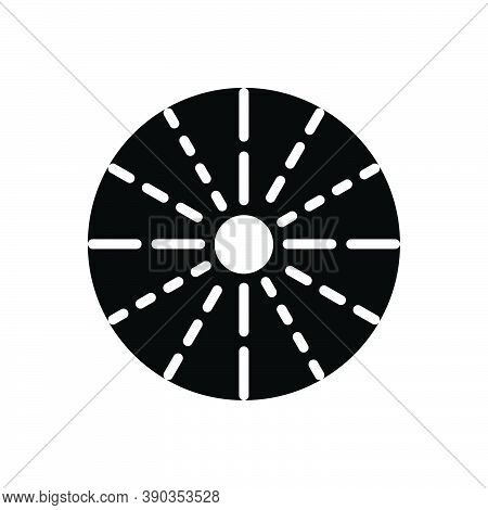 Black Solid Icon For Spread Expansion Elaboration Diffusion Spreading Proliferation Dissemination Pr