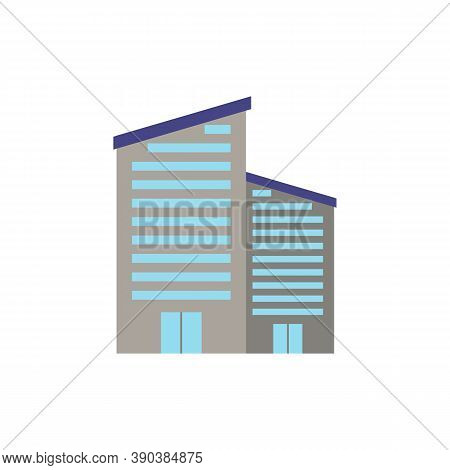 New Building Icon. Simple Element From Buildings Collection. Creative New Building Icon For Web Desi