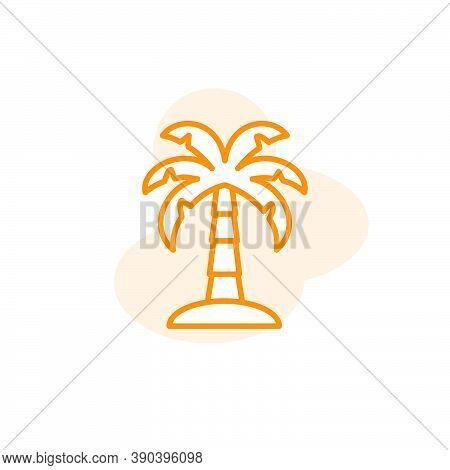 Palm Icon Vector Design Template
