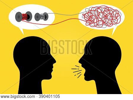 An Illustration Of Talk Theraphy Conceptual Illustration