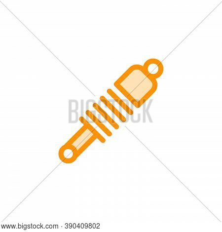 Shock Absorber Icon Design Template