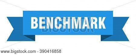 Benchmark Ribbon. Benchmark Paper Band Banner Sign