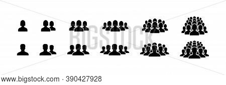 People Icons. People Vector Icons, Isolated. People. Man And Woman. Business Persons Symbols. Team O