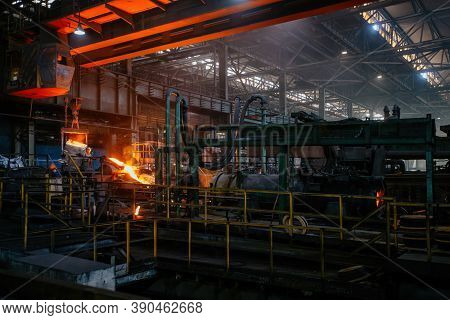 Iron Pipe Casting Machinery. Production Of Cast Iron Pipes
