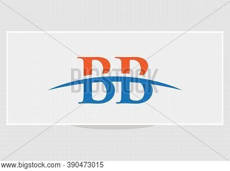 Initial Bb Logo Based Letter Icon. Bb Letter Logo Design