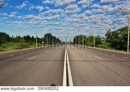 The High Speed Autobahn To Berlin In Germany