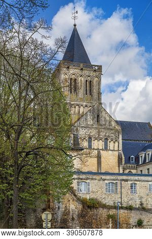Abbey Of Sainte-trinite (the Holy Trinity) Is A Former Monastery Of Women In Caen, Normandy, France.