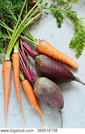 Fresh Organic Vegetables Light Background Market Food For A Diet Variety And Abundance Of Products