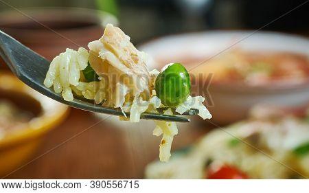 Risotto Di Triglia - Sicilian Dish Risotto With Mullet