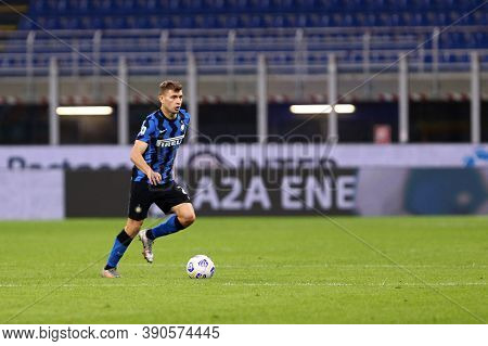 Milano (italy), 17th October 2020. Nicolo Barella Of Fc Internazionale During The Serie A Match Betw