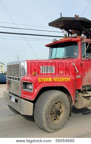 Storm recovery truck
