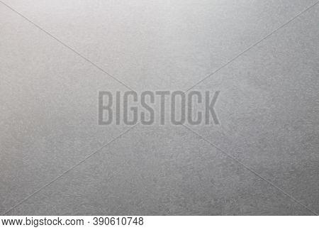 Zinc Background. Textured Zinc Background. Realistic Galvanized Metal.
