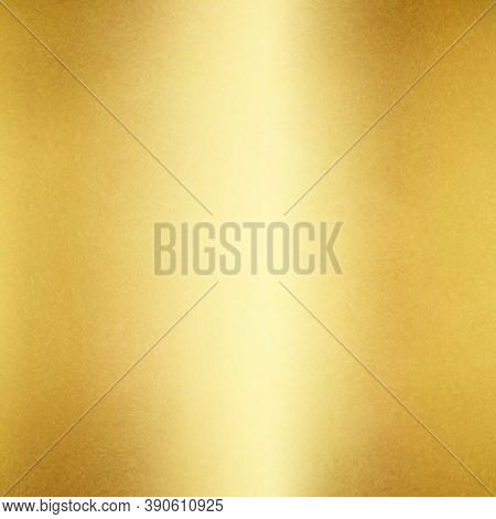 Gold Foil. Golden Background. Gold Textured Backdrop. Vector Illustration