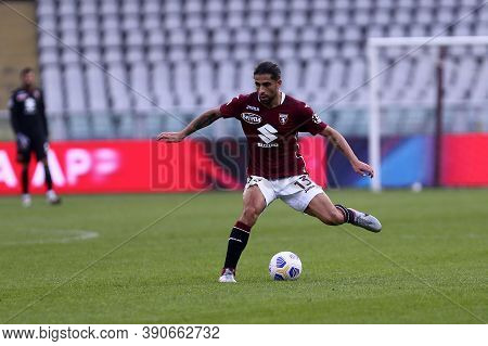 Torino, Italy. 18th October 2020. Ricardo Rodriguez Of Torino Fc In Action   During The Serie A Matc