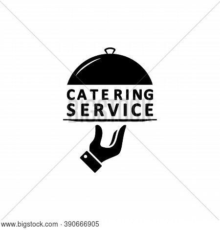 Catering Service Logo. Vector On Isolated White Background. Eps 10
