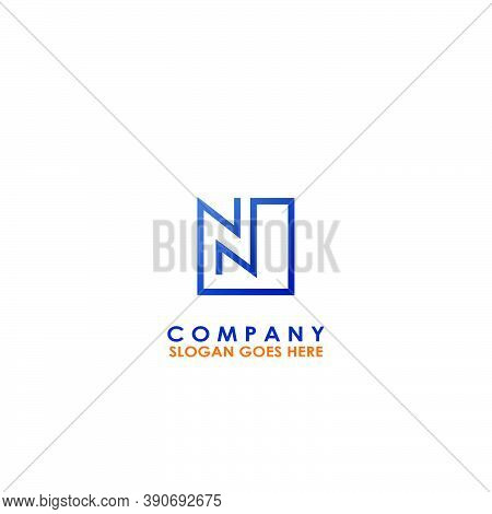 Building House N Letter Logo With Building Room Vector Design Of Arrow Up Architectur For Business,