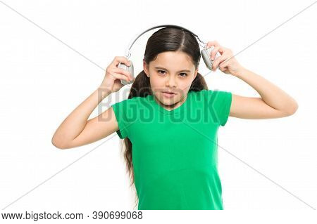 Small Kid Listen Music Headphones. No Ad Interruptions. Play Any Song. Try Premium Account. Enjoy No
