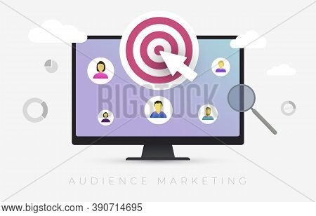Audience Marketing Segmentation. Target Market, Customer Care, Human Resources Recruit And Customer