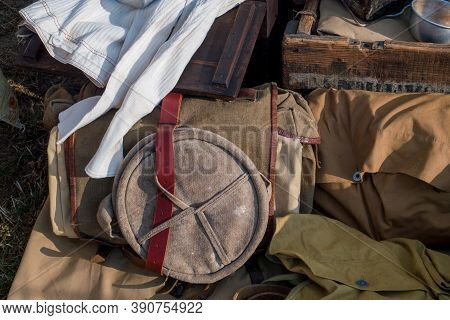 A View Of Antique French Military Equipment