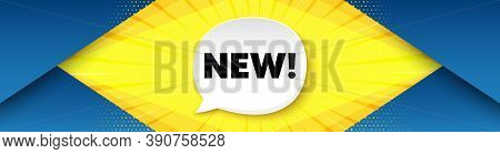 New Symbol. Background With Offer Speech Bubble. Special Offer Sign. New Arrival. Best Advertising C