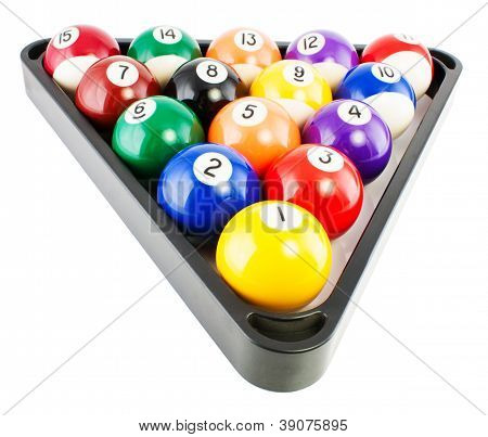 Billiard Balls In Triangle