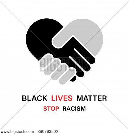 Black Lives Matter. Stop Racism. Black Lives Matter Poster Or Banners. Black Lives Matter Social Pro